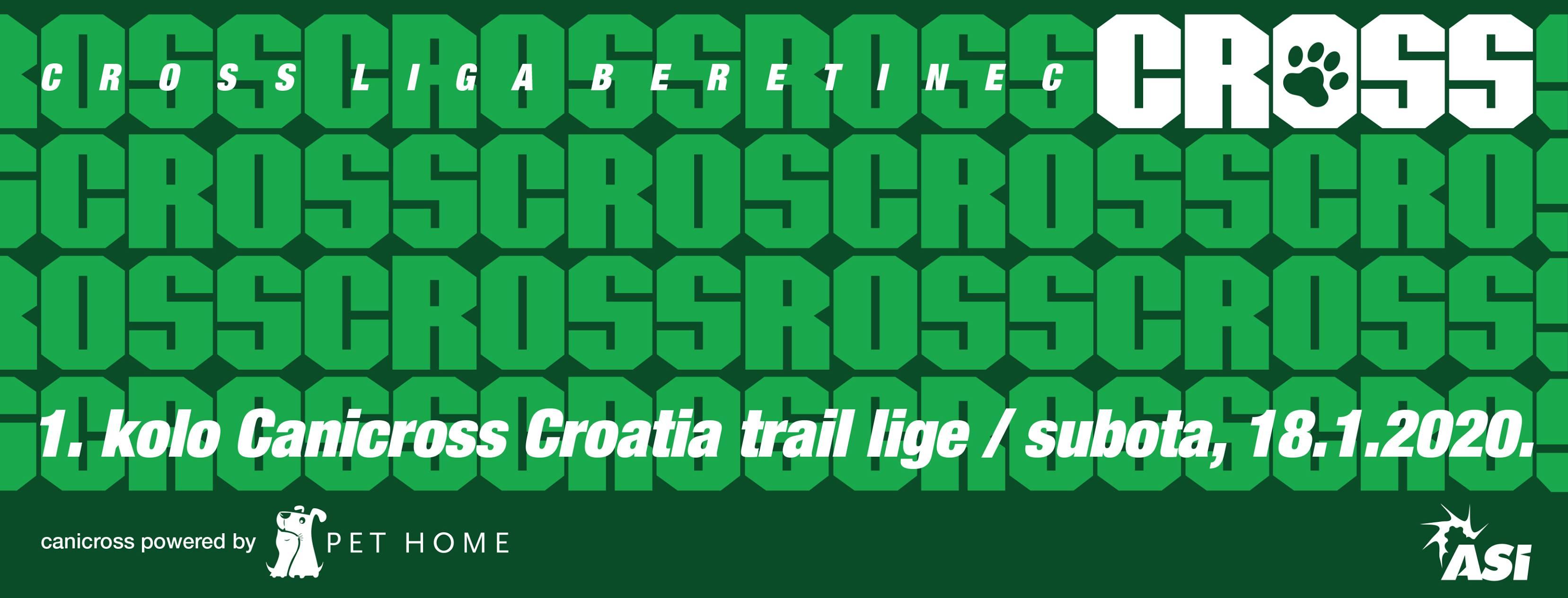 2. Prins Canicross Croatia trail liga – 1. kolo